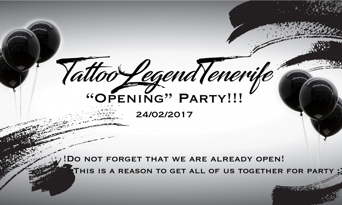 Opening party!!!